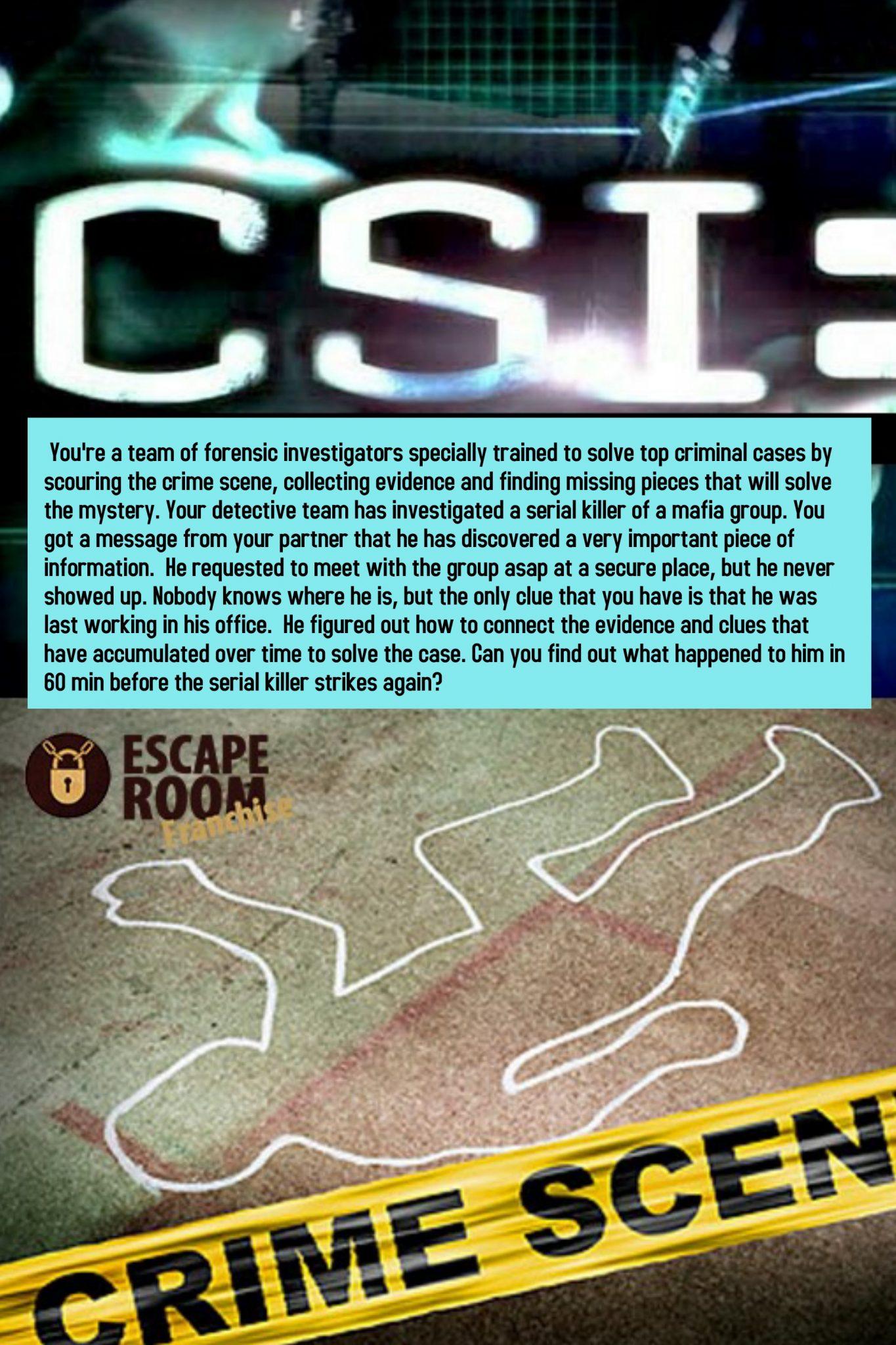 CSI (TOP PICKED ROOM)
